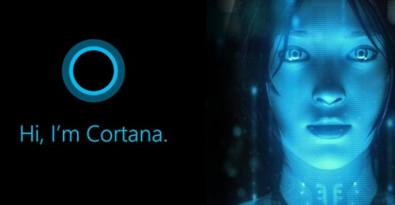 Can I use an Azure AD account with Cortana in Windows 10 Anniversary?