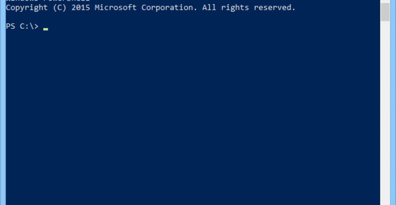 Solve PowerShell problems on domain controllers after an upgrade