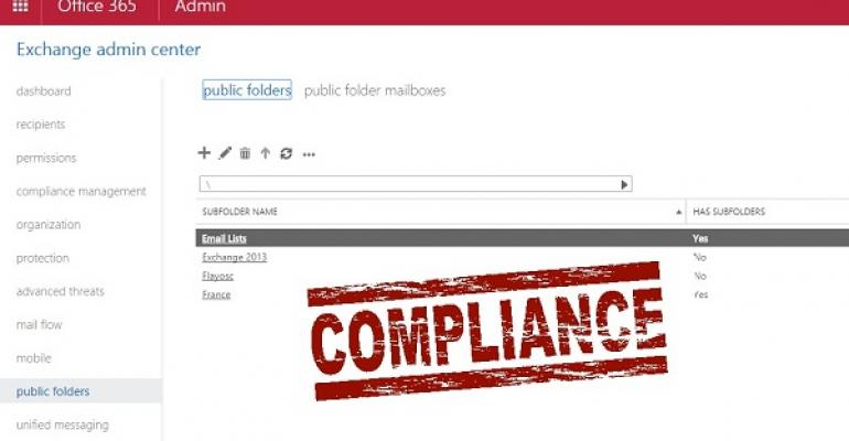 Why public folder compliance gets no respect