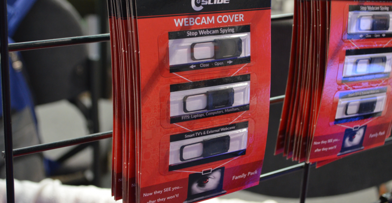 CES 2017: Camera Privacy Covers for Laptops, Tablets, and Smartphones