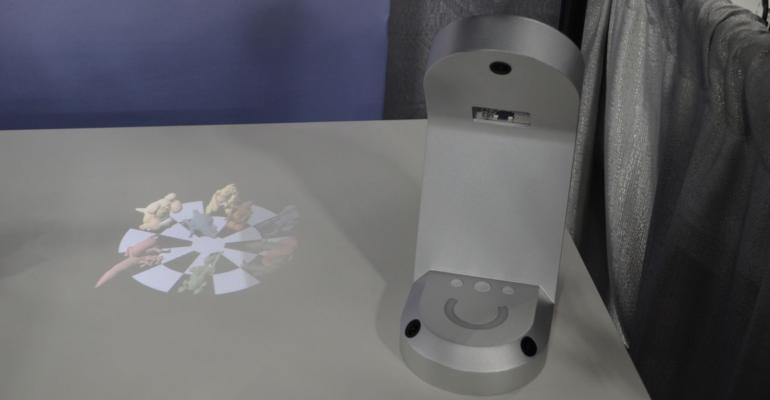 CES 2017: Hands on with HoloLamp - 3D Projection without Glasses