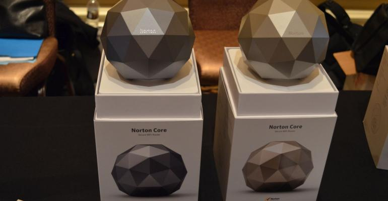CES 2017: Hands on with Norton Core (Video)