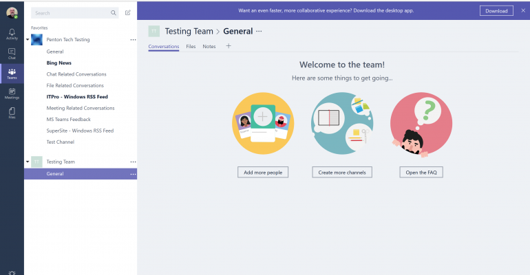 White Paper: Getting Started with Microsoft Teams