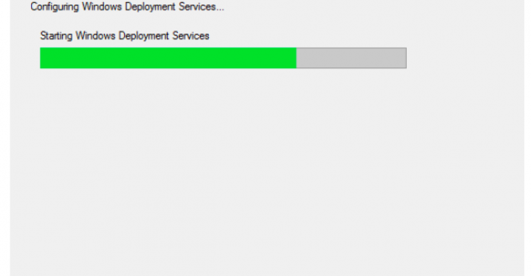 Configuring Windows Deployment Services on Server 2012 R2 with DHCP Running on Ubuntu 14.04.5 LTS Server