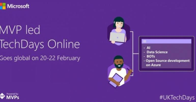 Global MVP TechDays Online Scheduled for 20-22 February 2017