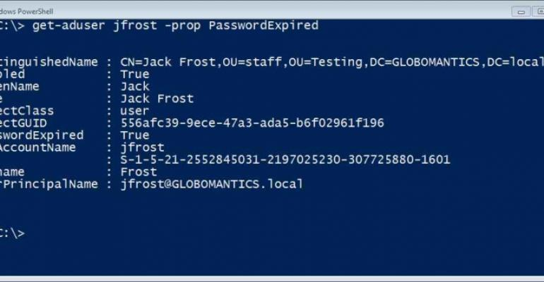 PowerShell cmdlets for NTFS management