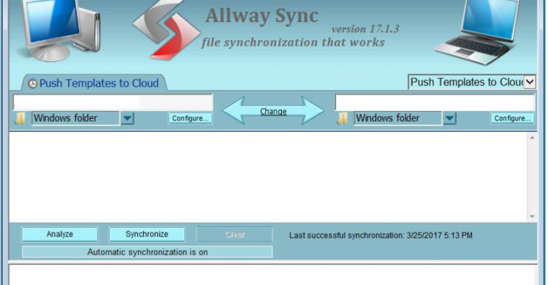 how to synchronize custom templates in sql server between laptops