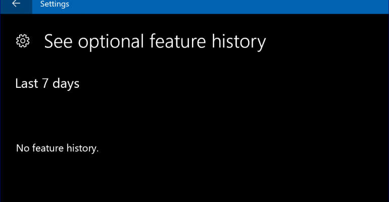 Features Being Deprecated or Marked for Removal in Windows 10 Creators Update