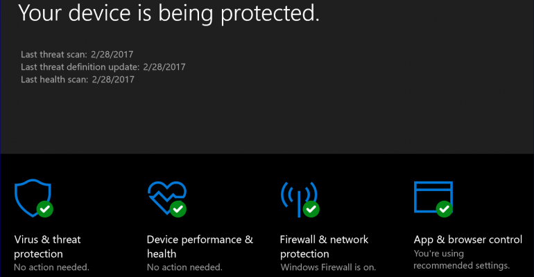 Resource: Learn all about Windows Defender and Windows Defender Advanced Threat Protection