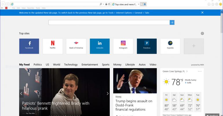 Remove Edge tab in Internet Explorer