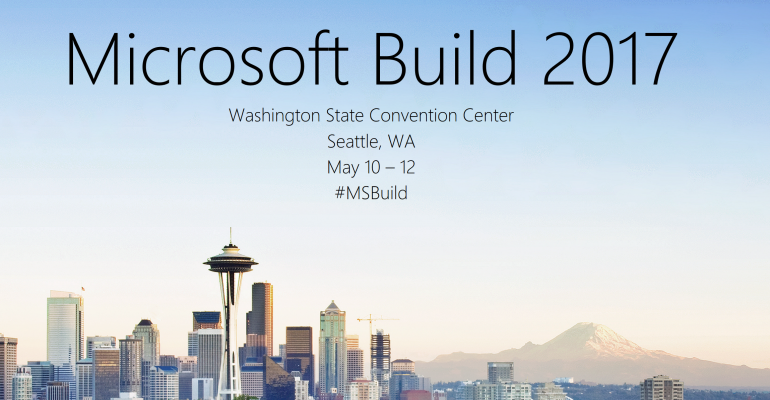 Build 2017: The IT Pro Perspective