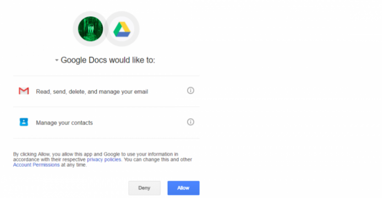 Sophisticated Google Docs phishing scam goes viral