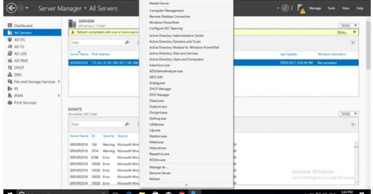 how to install remote server administration tools rsat on windows 10