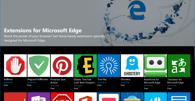 Five More Microsoft Edge Extensions Quietly Arrive in the Windows Store