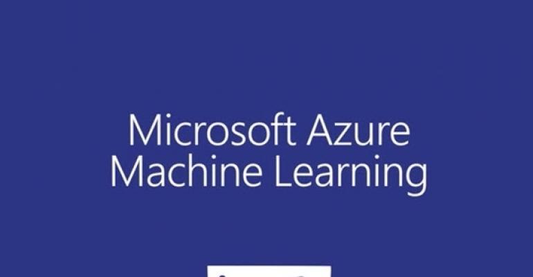 Azure Machine Learning Basics