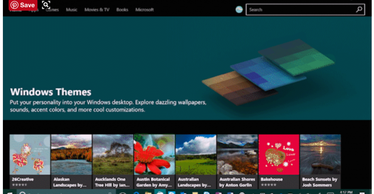 personalize your desktop with new free themes from microsoft
