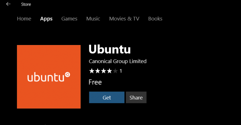How To: Installing Ubuntu from the Windows Store on Windows 10