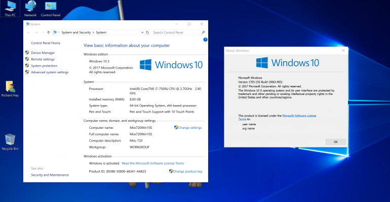 Windows 10 S Now Available to MSDN and Visual Studio Subscribers for Testing; A Closer Look