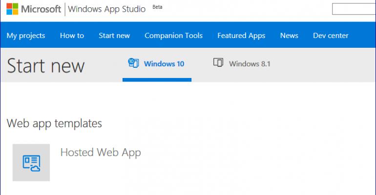 Windows App Studio Service is Shutting Down on December 1st, 2017