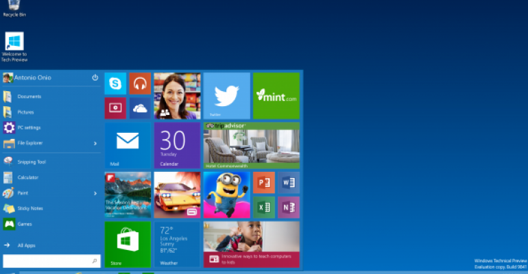 Difference in touch support for Windows 10 devices