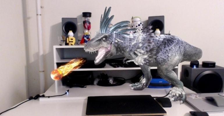 View 3D Capture T-Rex