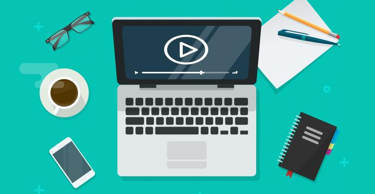Online virtual conferences