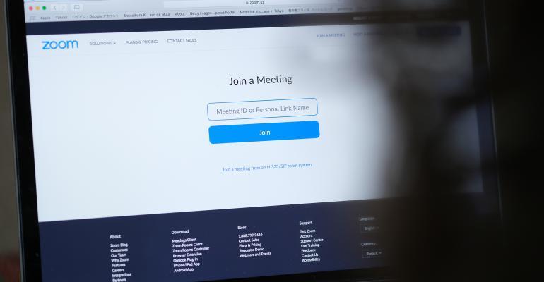 zoom meeting in browser
