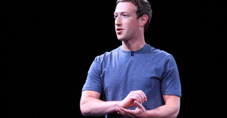 Mark Zuckerberg Photographer: Pau Barrena/Bloomberg