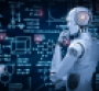 Robot staring at data on board.png