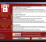 WannaCry ransomware attack message demanding Bitcoin payment