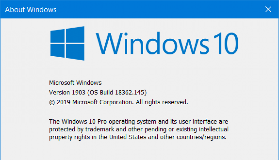 Windows 10 (19H1) Build Tracker for PCs | IT Pro