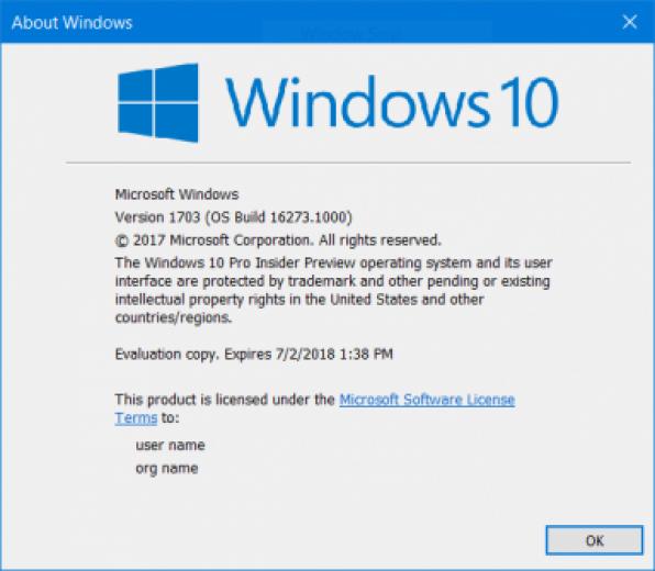 Windows 10 Redstone 3 Build 16273 | IT Pro
