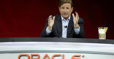 ceo mark hurd at oracle openworld