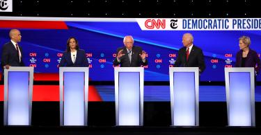 cnn nyt democratic presidential debate