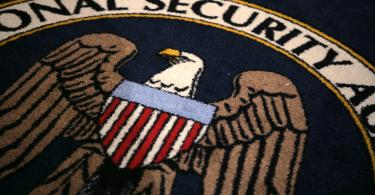 national security agency nsa logo carpet