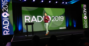 Kit Colbert, VMware VP and CTO of the company's Cloud Platform business unit, speaking at Radio 2019, VMware's annual R&D conference.