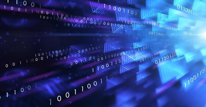 data flowing