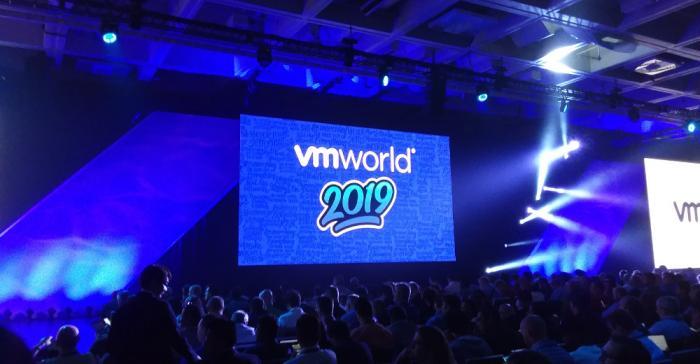 VMworld 2019 keynote presentation