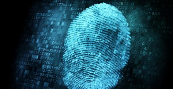 fingerprint on top of code