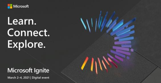 microsoft ignite logo learn connect explore via microsoft