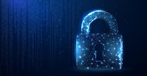 padlock cybersecurity data