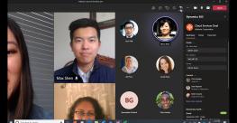 Microsoft Dynamics 365 In Teams Meeting