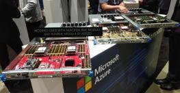 Microsoft Azure hardware on display at the OCP Summit 2019