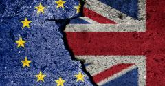 UK and EU flags brexit deal
