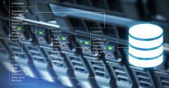 Concept art of database technology