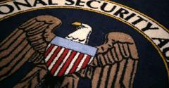 national security agency nsa logo carpet