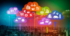 Internet of Things cityscape