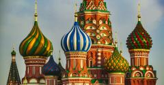 Saint Basil Cathedral or Cathedral of Vasily the Blessed. Red Square. Moscow. Russia