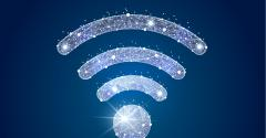 Illustration of a Wi-Fi icon