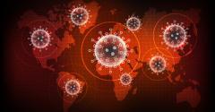 COVID-19 coronavirus pandemic around the globe